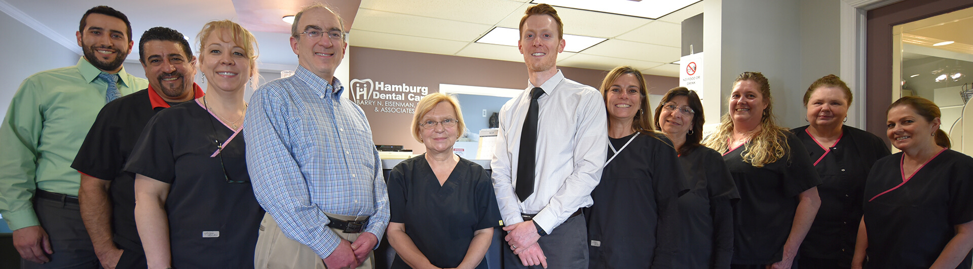Hamburg Dental Care Team Photo
